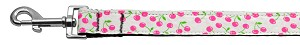 Cherries Nylon Collar White 1 wide 6ft Lsh