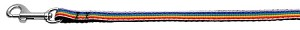 Rainbow Striped Nylon Collars Rainbow Stripes 3/8 wide 4Ft Lsh