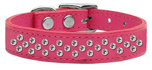 Sprinkles Clear Crystal Leather Pink 18