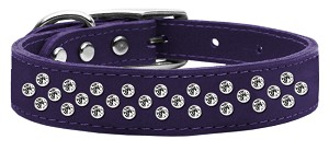 Sprinkles Clear Crystal Leather Purple 16