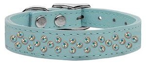 Sprinkles AB Crystal Leather Baby Blue 18