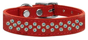 Sprinkles AB Crystal Leather Red 16