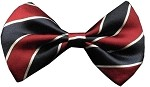 Dog Bow Tie Stripes Classic