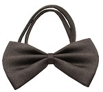 Plain Brown Bow Tie