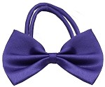 Plain Purple Bow Tie