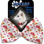 Fox Balloons Pet Bow Tie Collar Accessory with Velcro