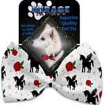 Magical Love Pet Bow Tie Collar Accessory with Velcro
