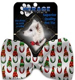 Santa Gnomes Pet Bow Tie