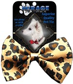 Dog Bow Tie Leopard