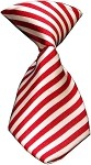 Dog Neck Tie Candy Cane Stripes