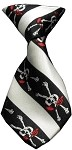 Dog Neck Tie Jolly Roger