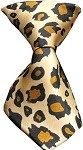 Dog Neck Tie Leopard