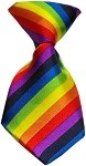 Dog Neck Tie Rainbow
