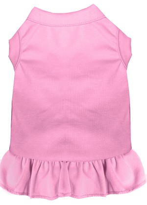 Plain Pet Dress Light Pink XXXL (20)