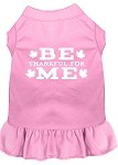 Be Thankful for Me Screen Print Dress Light Pink XS (8)