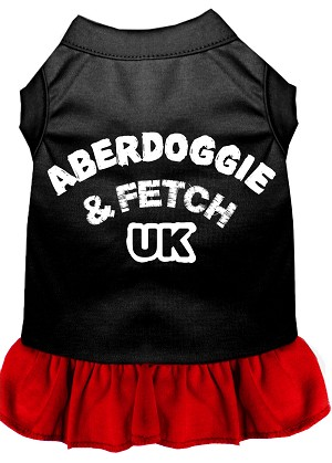 Aberdoggie UK Dresses Black with Red XS (8)