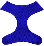 Soft Mesh Pet Harnesses Blue XS