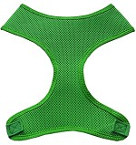 Soft Mesh Pet Harnesses Emerald Green XS