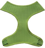 Soft Mesh Pet Harnesses Lime Green XS