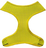 Soft Mesh Pet Harnesses Yellow XS