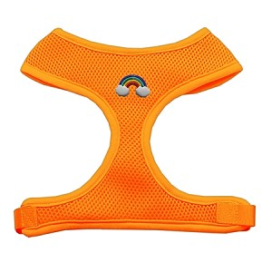Rainbow Chipper Orange Harness Large