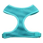 Soft Mesh Harnesses Aqua Small