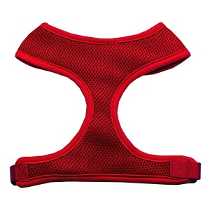 Soft Mesh Harnesses Red X-Large