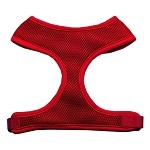 Soft Mesh Harnesses Red Small