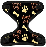 Happy Dog Canvas and Mesh Pet Harness Small