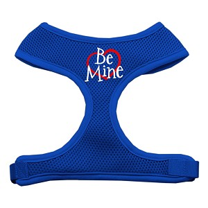 Be Mine Soft Mesh Harnesses Blue Small