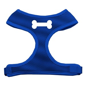 Bone Design Soft Mesh Harnesses Blue Extra Large