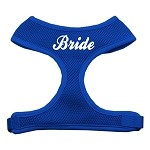 Bride Screen Print Soft Mesh Harness Blue Small
