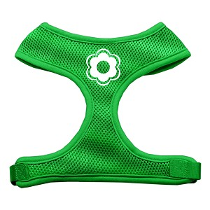 Daisy Design Soft Mesh Harnesses Emerald Green Extra Large