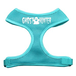 Ghost Hunter Design Soft Mesh Harnesses Aqua Small