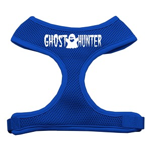 Ghost Hunter Design Soft Mesh Harnesses Blue Large