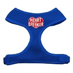 Heart Breaker Soft Mesh Harnesses Blue Small