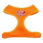 Heart Breaker Soft Mesh Harnesses Orange Small