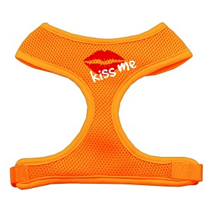 Kiss Me Soft Mesh Harnesses Orange Extra Large