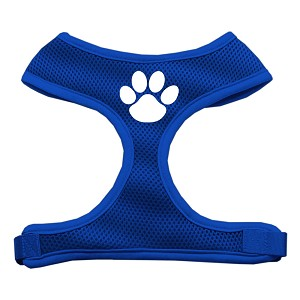 Paw Design Soft Mesh Harnesses Blue Extra Large