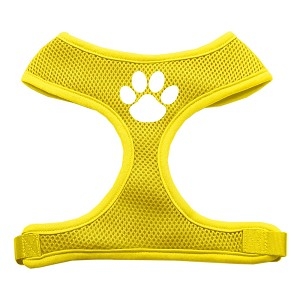 Paw Design Soft Mesh Harnesses Yellow Medium