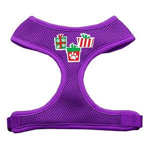 Presents Screen Print Soft Mesh Harness Purple Extra Large