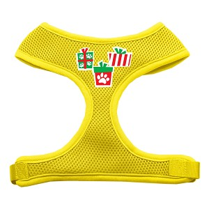 Presents Screen Print Soft Mesh Harness Yellow Large