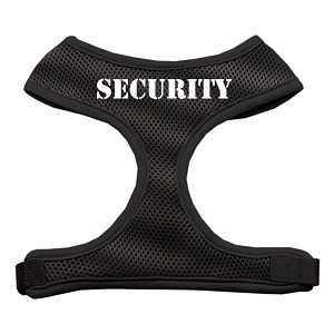 Security Design Soft Mesh Harnesses Black Small