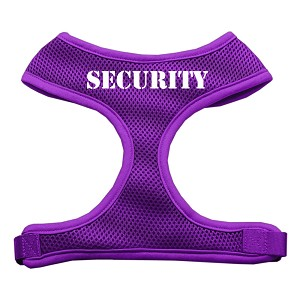 Security Design Soft Mesh Harnesses Purple Small