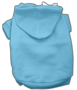 Blank Pet Hoodies Baby Blue XXXL
