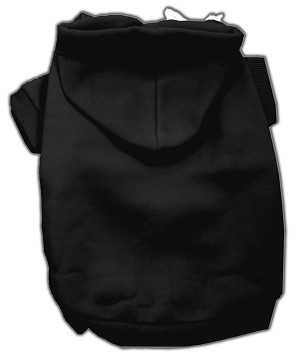 Blank Hoodies Black L (14)