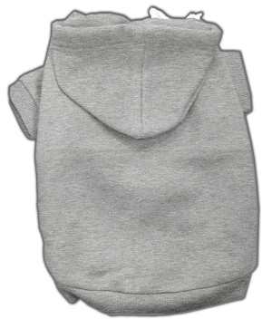 Blank Hoodies Grey L