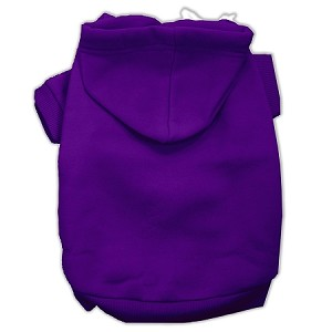 Blank Hoodies Purple Size XS (8)