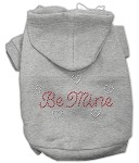 Be Mine Rhinestone Hoodie Grey XL (16)