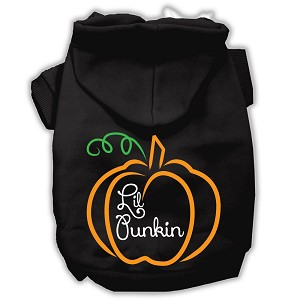Lil Punkin Screenprint Hoodie Black XL (16)